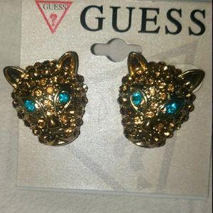 ☆NWT GUESS Bling Earrings
